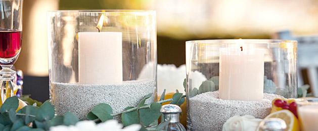 Decoraci n con velas venta de velas decoragloba - Decorar con velas ...