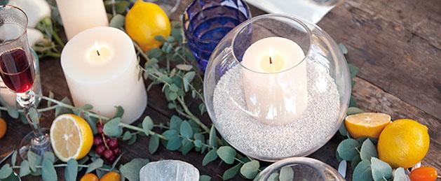 velas decoracion eventos