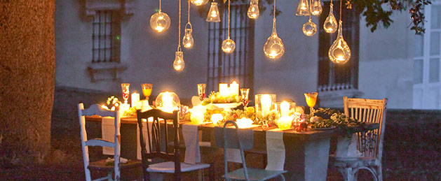 Wedding Candles, iluminar una ceremonia nupcial