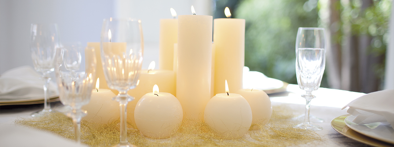 Velas para bodas ideas para decorar bodas con velas - Decorar con velas ...