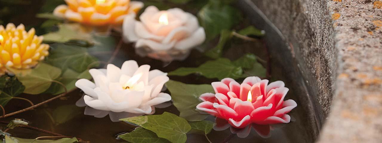 Velas para jard n iluminar el entorno natural - Velas jardin ...